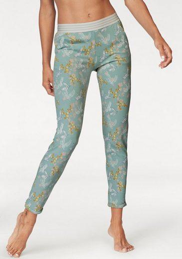 Skiny Pyjamahose »Oriental Spirits« in Pastellfarben