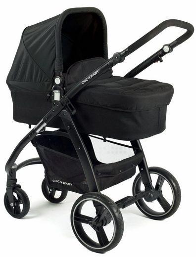 CHIC4BABY Kombi-Kinderwagen »Volare, schwarz«, inklusive Sportsitz; Kinderwagen
