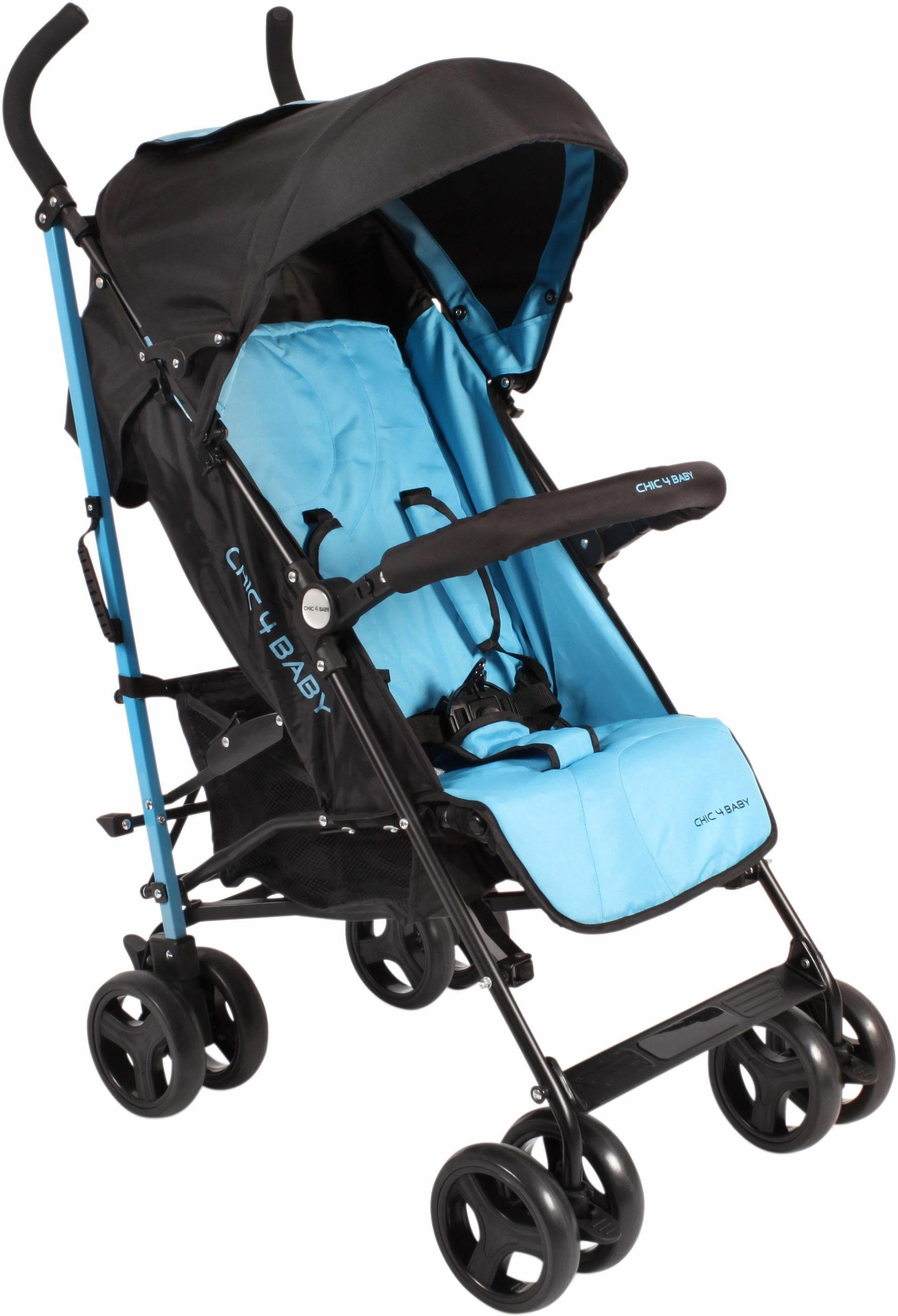 CHIC4BABY Buggy mit verstellbarer Rückenlehne, »Leni, light blue«