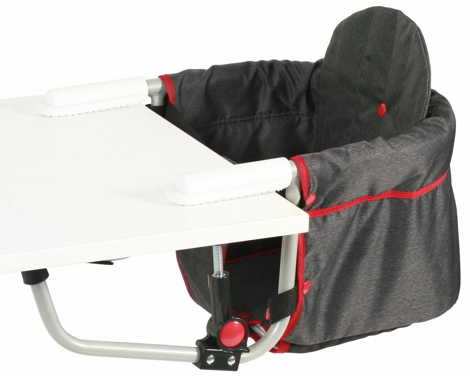 CHIC4BABY Tischsitz mit universellem Befestigungssystem, »Relax, jeans black«