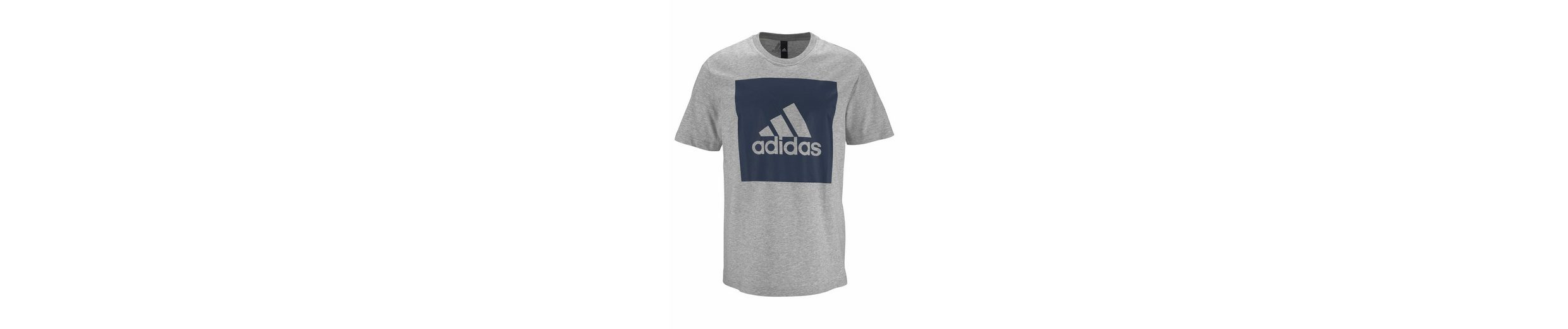 adidas Performance T-Shirt ESSENTIALS BIG BOX LOGO TEE Eastbay Günstigen Preis RPbraRrtiS