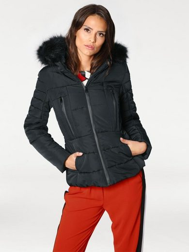 ASHLEY BROOKE by Heine Steppjacke mit Kapuze