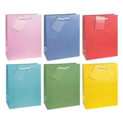 TSI Geschenktaschen »Trendfarben«