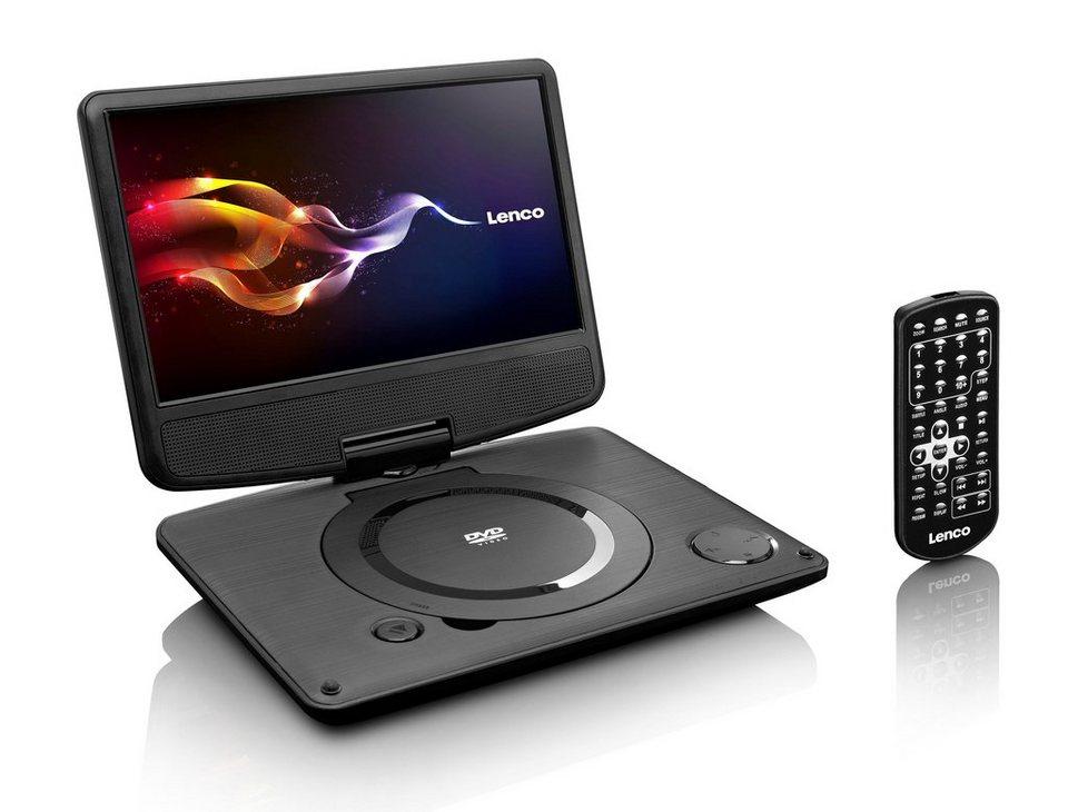 lenco tragbarer dvd player mit usb netzadapter dvp 9331. Black Bedroom Furniture Sets. Home Design Ideas