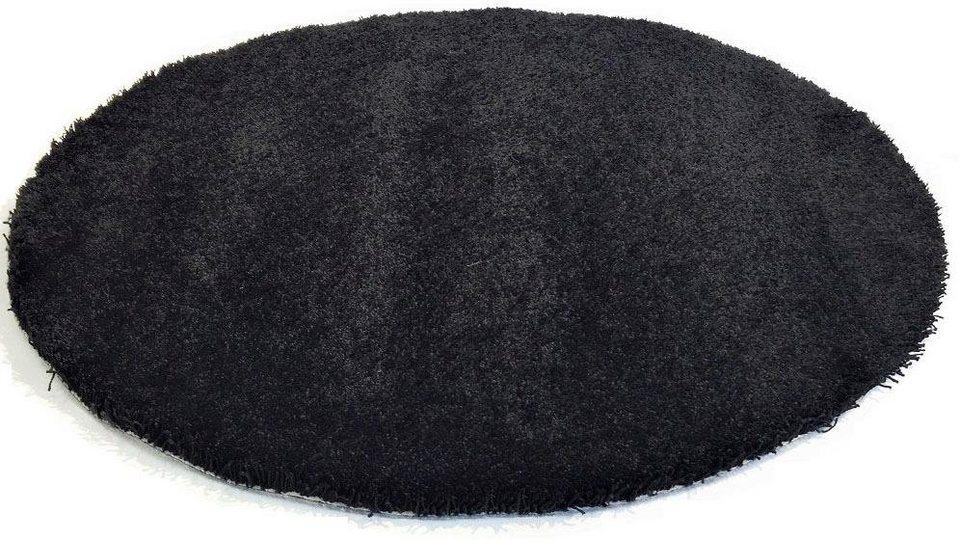 Teppich rund schwarz weiß  Teppich »Happy Wash«, Living Line, rund, Höhe 22 mm, waschbar ...