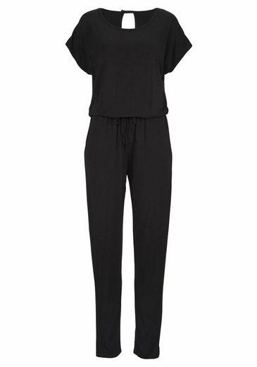 Lascana Sleep-jumpsuit Made Of Light Quality