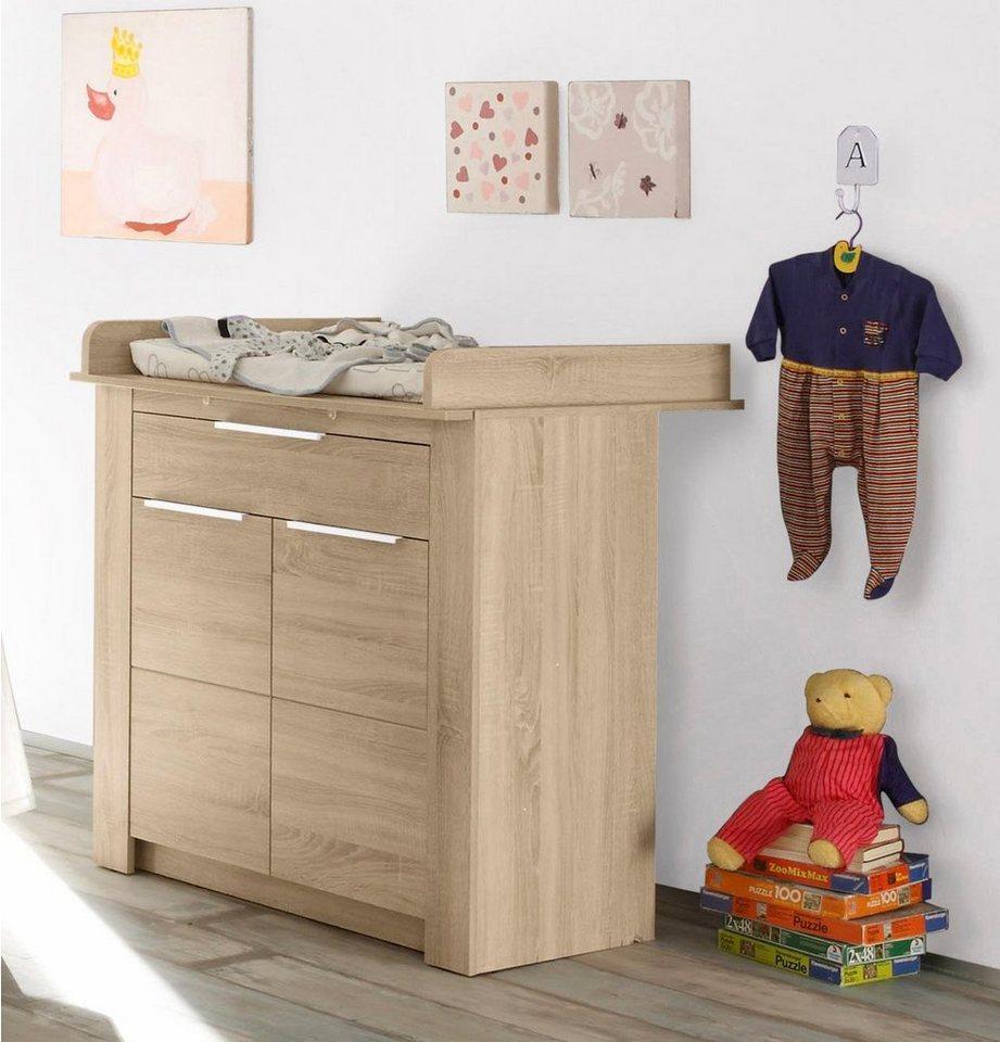 wickelkommode hamburg in eiche nb online kaufen otto. Black Bedroom Furniture Sets. Home Design Ideas