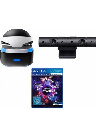 PLAYSTATION 4 (PlayStation VR akiniai + VR Worlds + ...