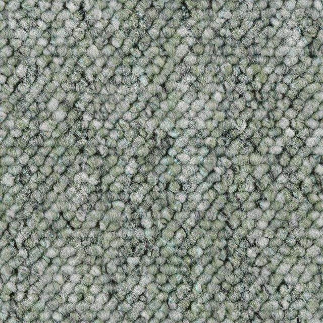 BODENMEISTER Teppichboden »Korfu«, Schlinge gemustert, Breite 200/300/400 cm | Baumarkt > Bodenbeläge > Teppichboden | Grün | Bodenmeister