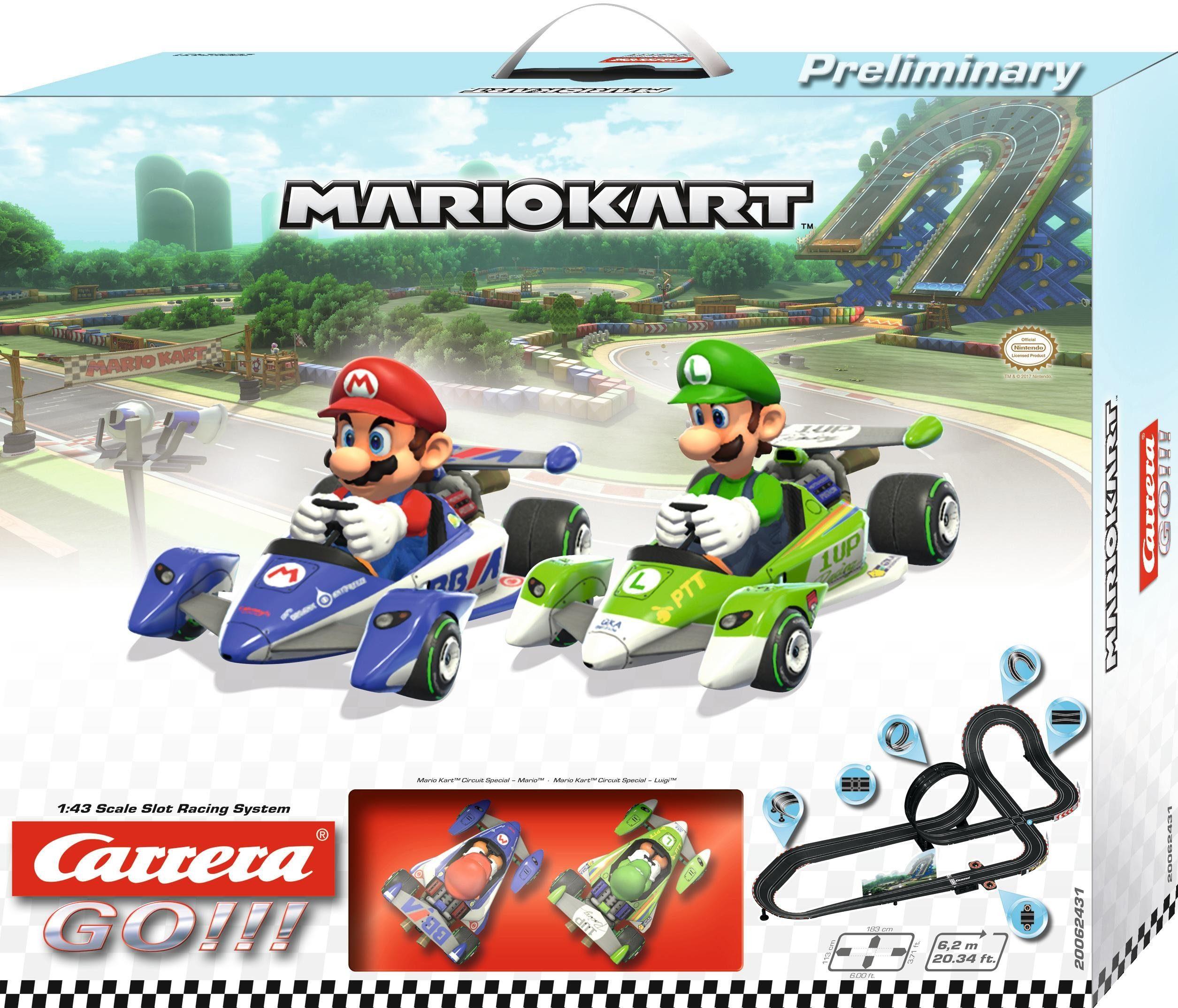 Carrera Autorennbahn, »Carrera® GO!!! Mario Kart™«