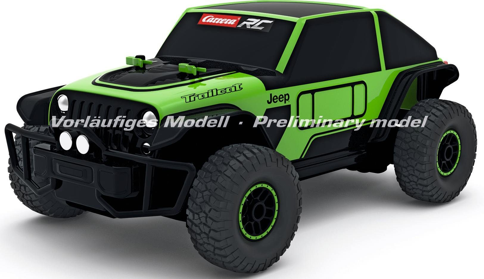 Carrera RC Komplettset, »Carrera® RC Jeep Trailcat, 1:18, 2,4GHz«