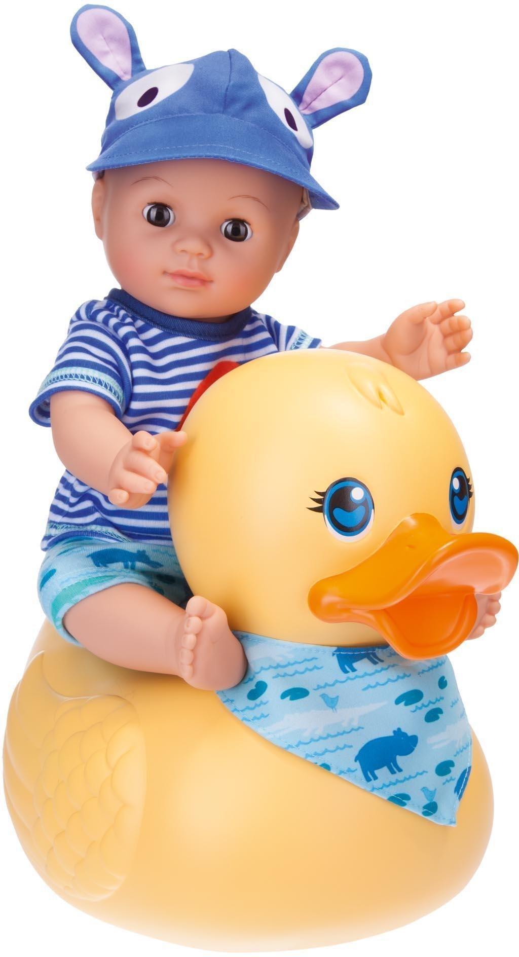 Schildkröt Badepuppe mit Schwimmente, »Kids Badepuppe Boy mit Schwimmente«