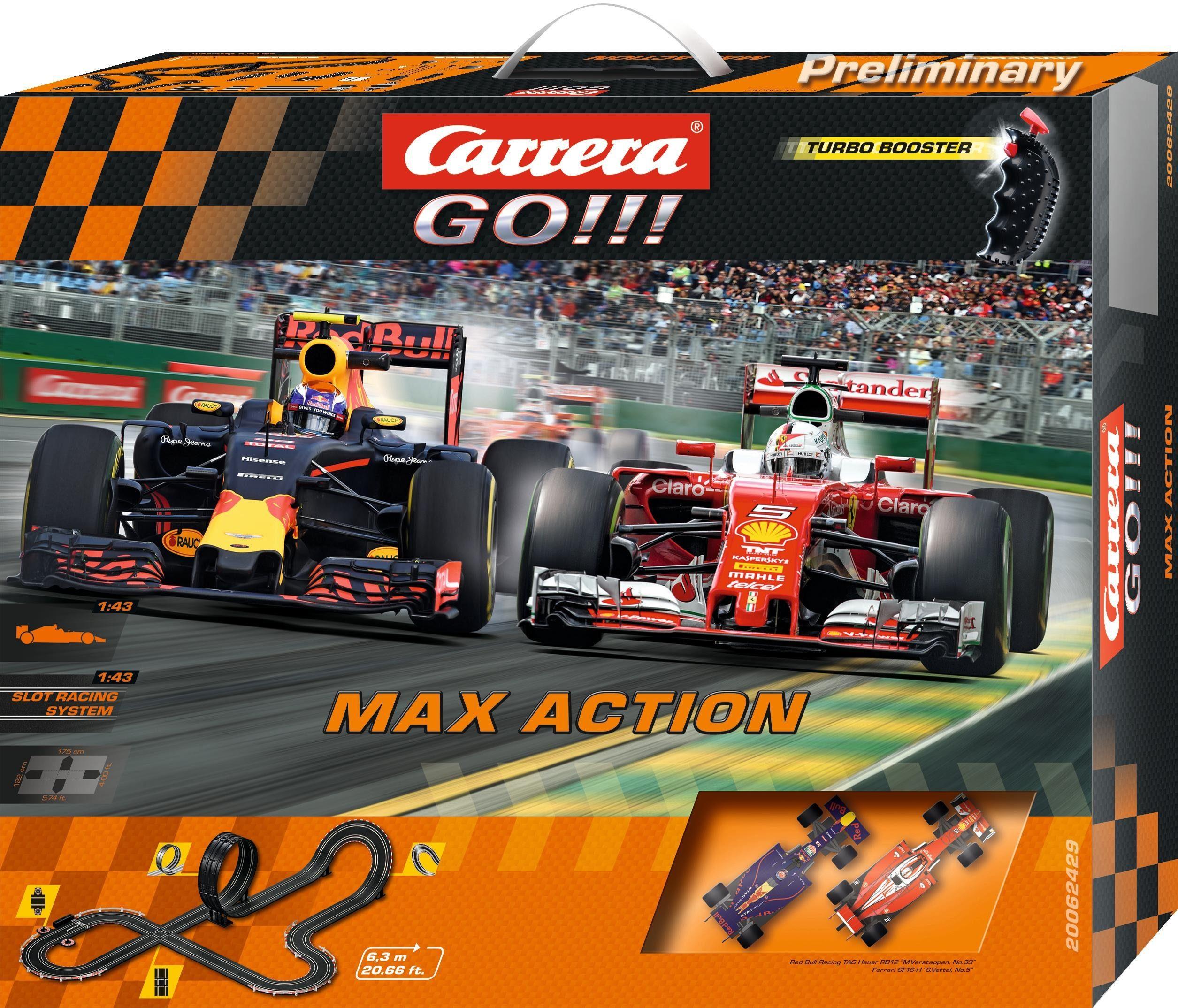 Carrera Autorennbahn, »Carrera® GO!!! Max Action«