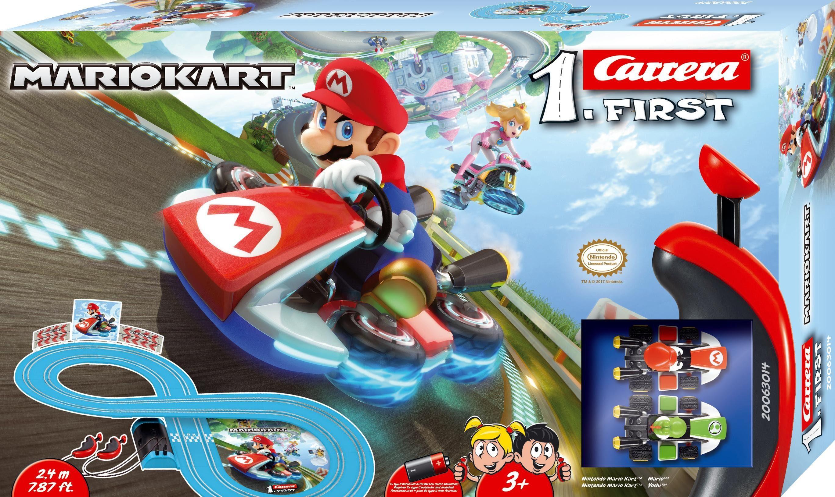 Carrera Autorennbahn für Kinder, »Carrera® First Nintendo Mario Kart™«