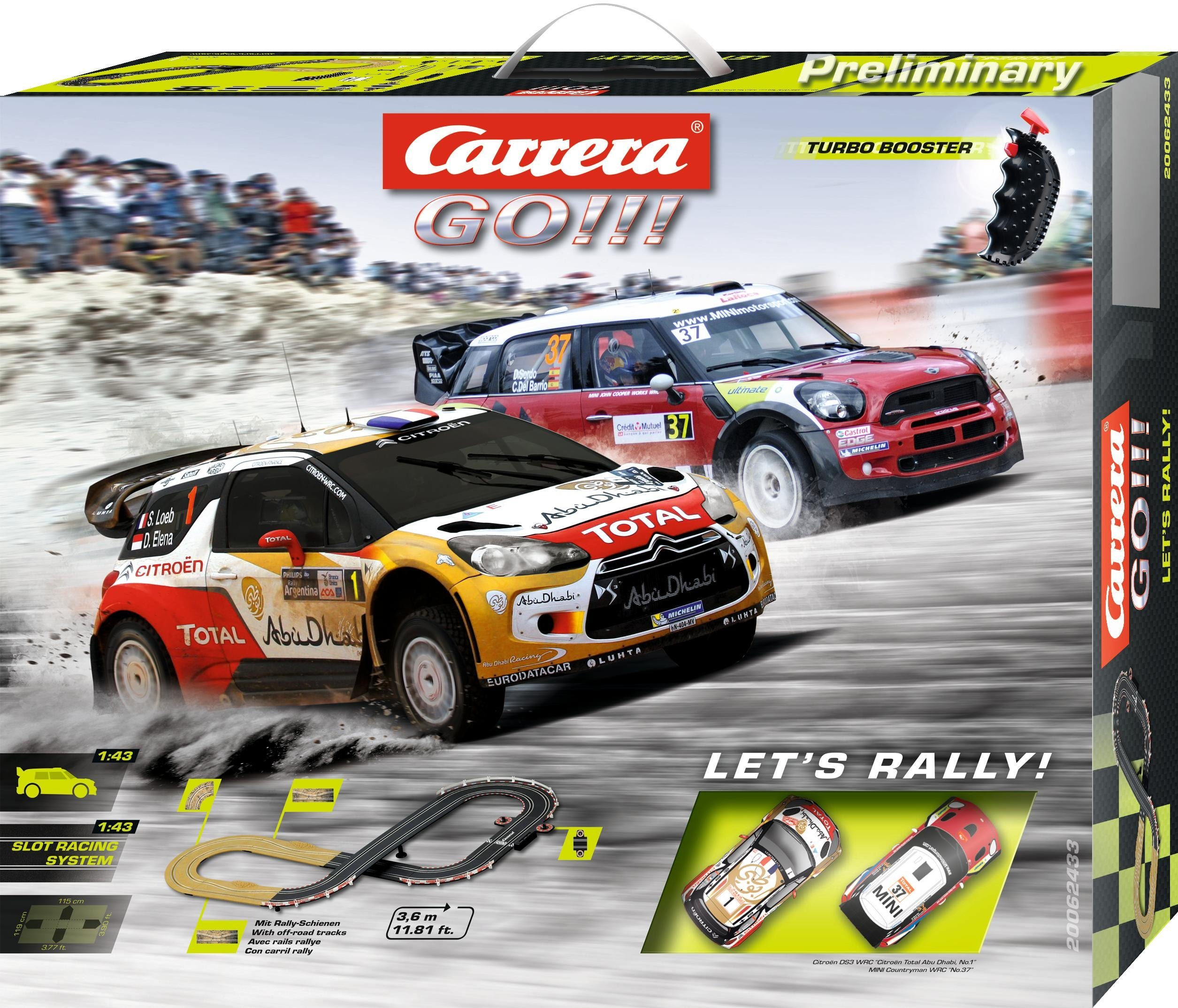 Carrera Autorennbahn, »Carrera® GO!!! Let's Rally!«