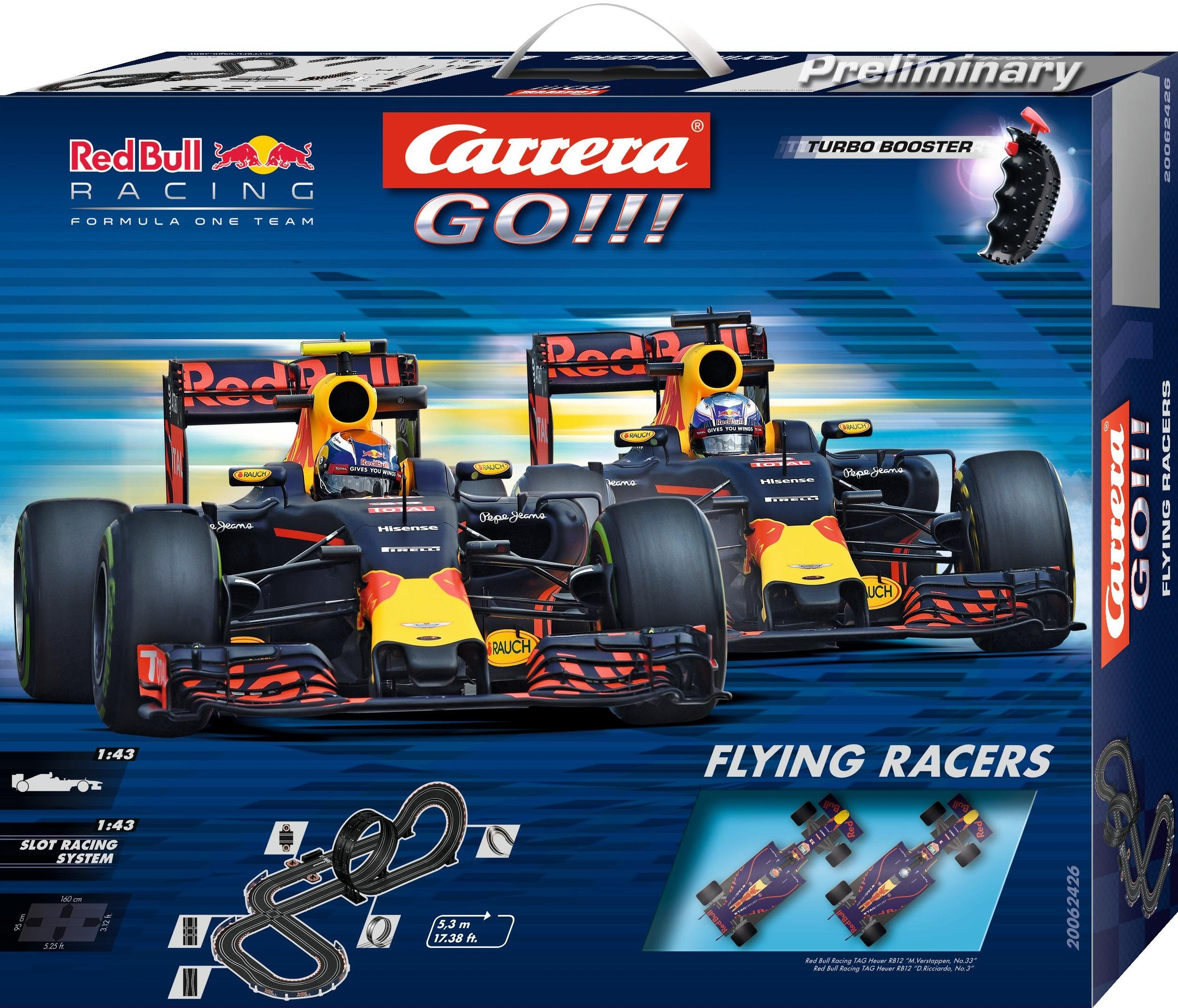 Carrera Autorennbahn, »Carrera® GO!!! Flying Racers«