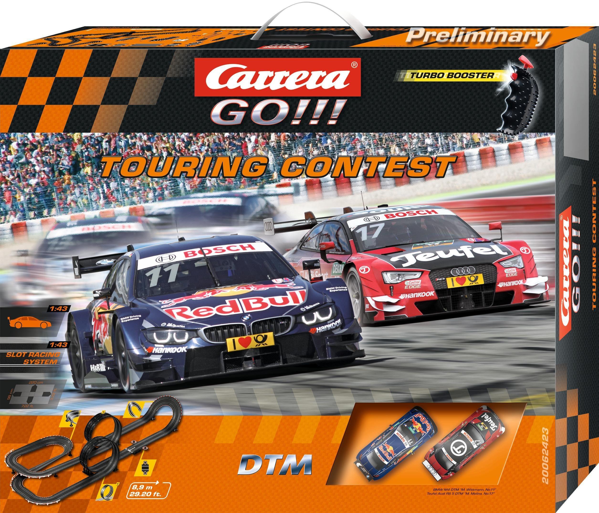 Carrera Autorennbahn, »Carrera® GO!!! DTM Touring«