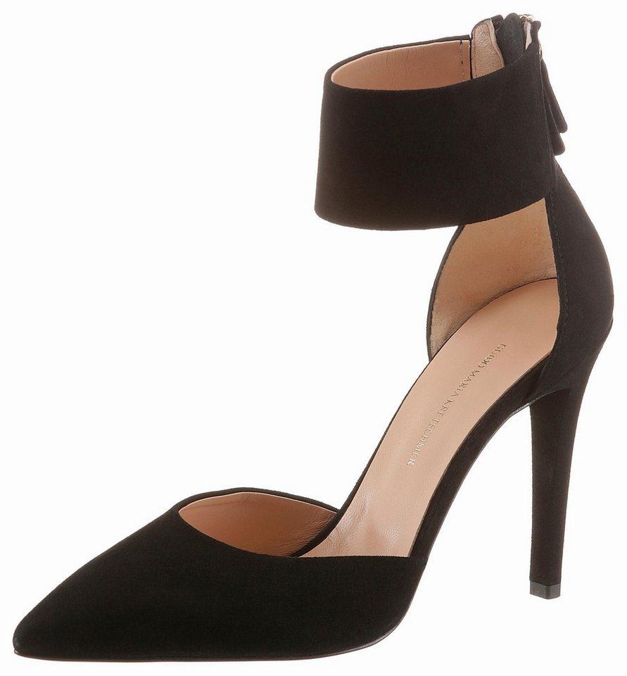 guido maria kretschmer high heel pumps mit fersenrei verschluss online kaufen otto. Black Bedroom Furniture Sets. Home Design Ideas
