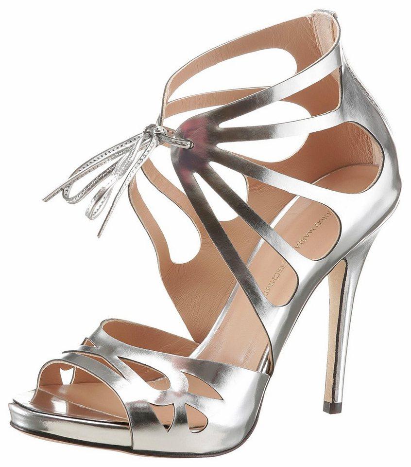 guido maria kretschmer high heel sandalette mit modischer. Black Bedroom Furniture Sets. Home Design Ideas