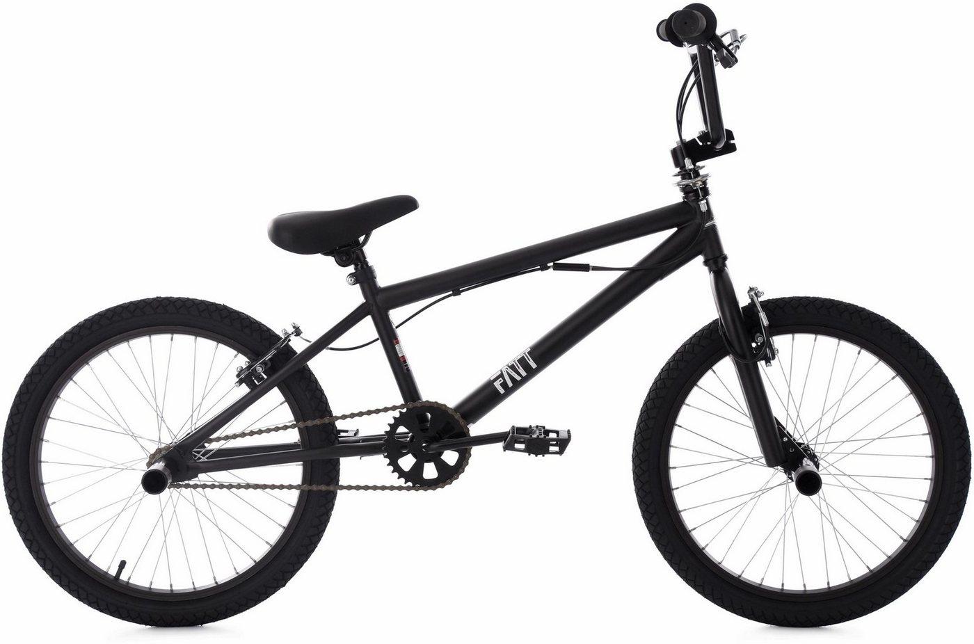 Image of BMX-Fahrrad Fatt 20 Zoll, schwarz