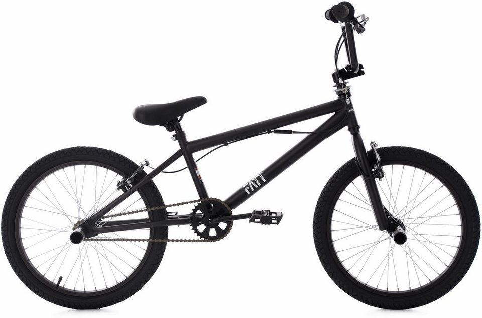ks cycling bmx fahrrad 20 zoll schwarz fatt otto. Black Bedroom Furniture Sets. Home Design Ideas