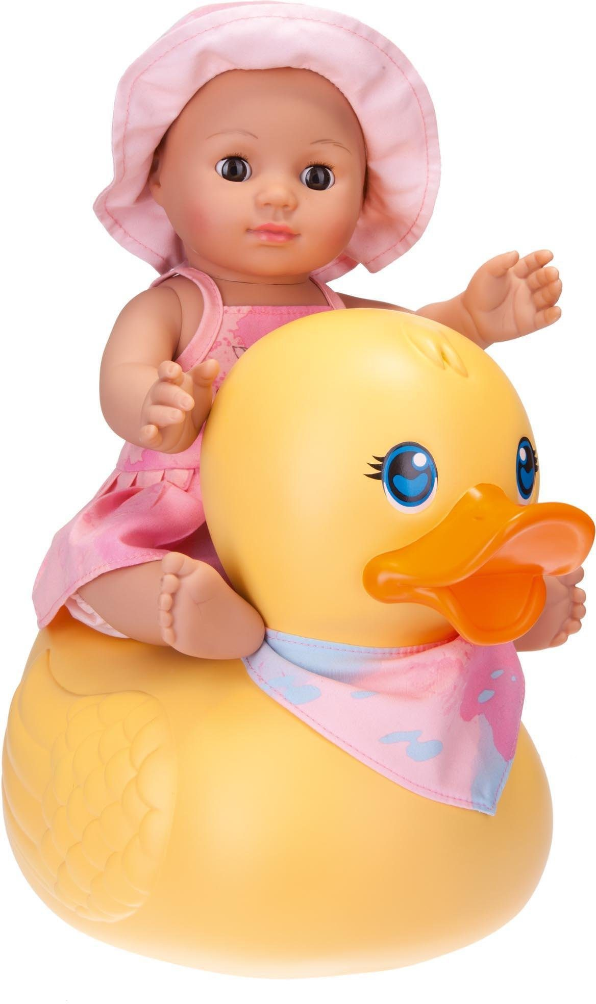 Schildkröt Badepuppe mit Schwimmente, »Kids Badepuppe Girl mit Schwimmente«
