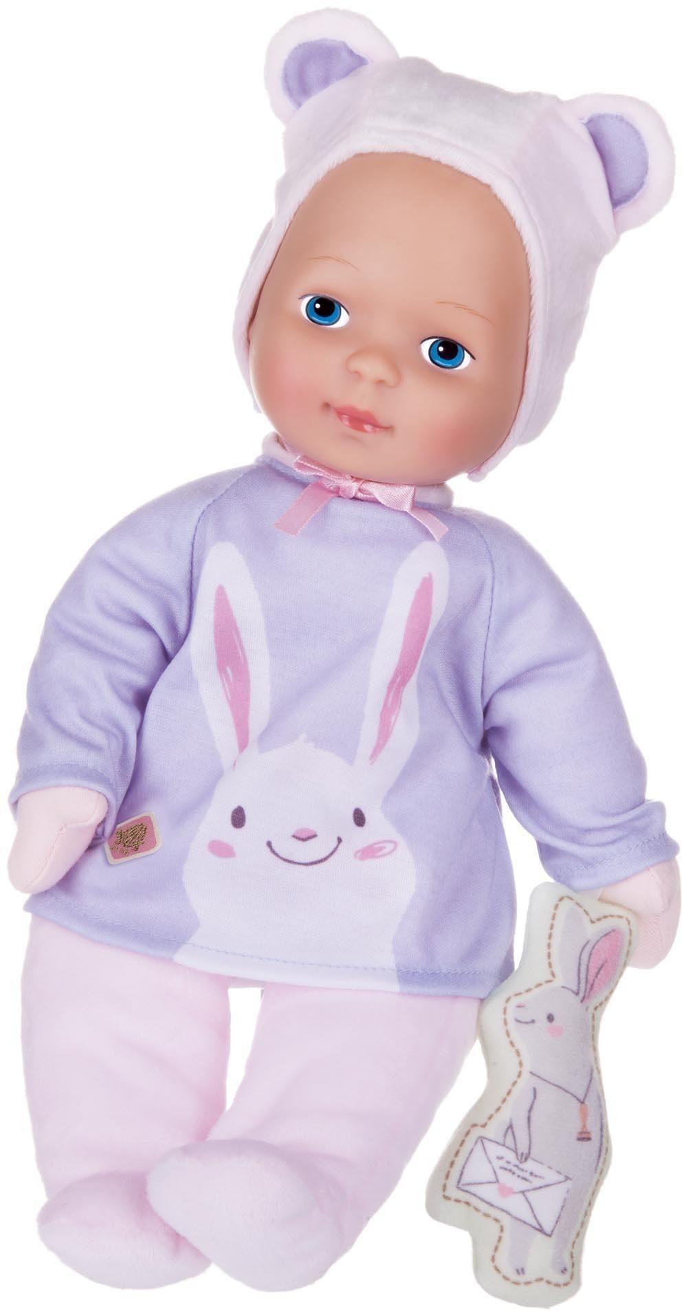 Schildkröt Puppe mit Hasenoutfit, »Baby Girl Trendy«