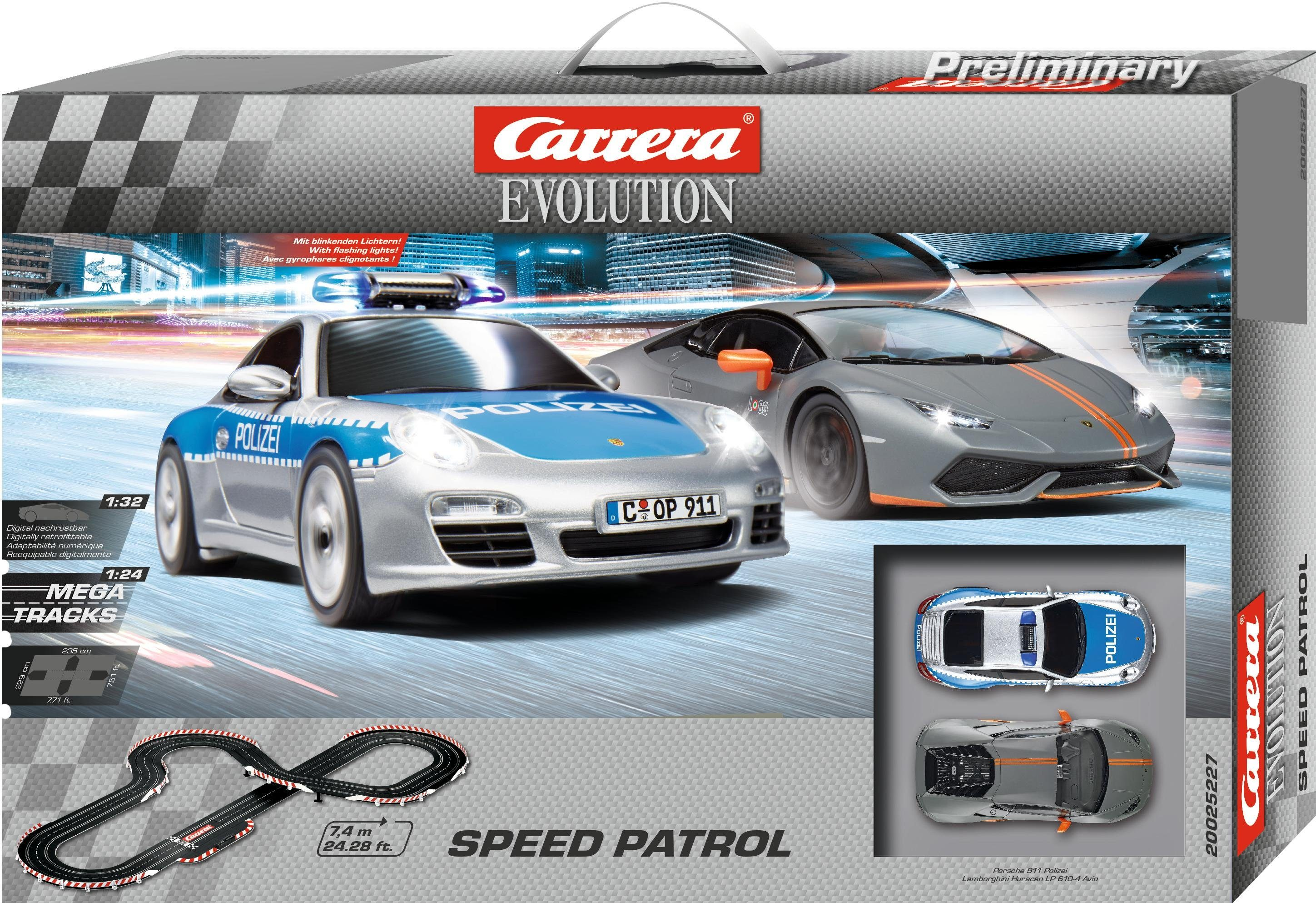 Carrera Autorennbahn, »Carrera® Evolution Speed Patrol«