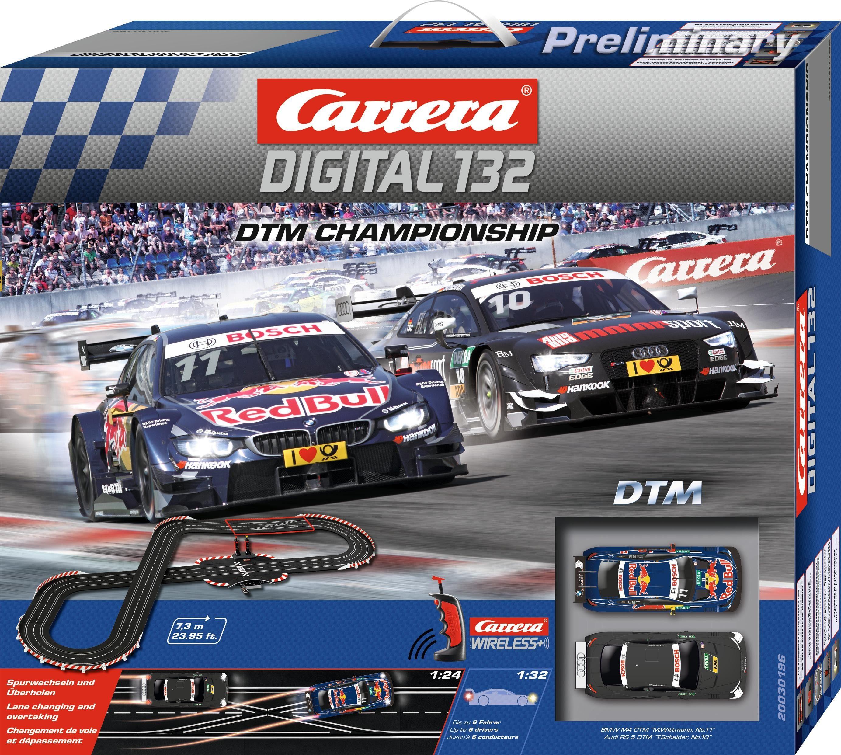 Carrera Autorennbahn, »Carrera® Digital 132 DTM Championship«