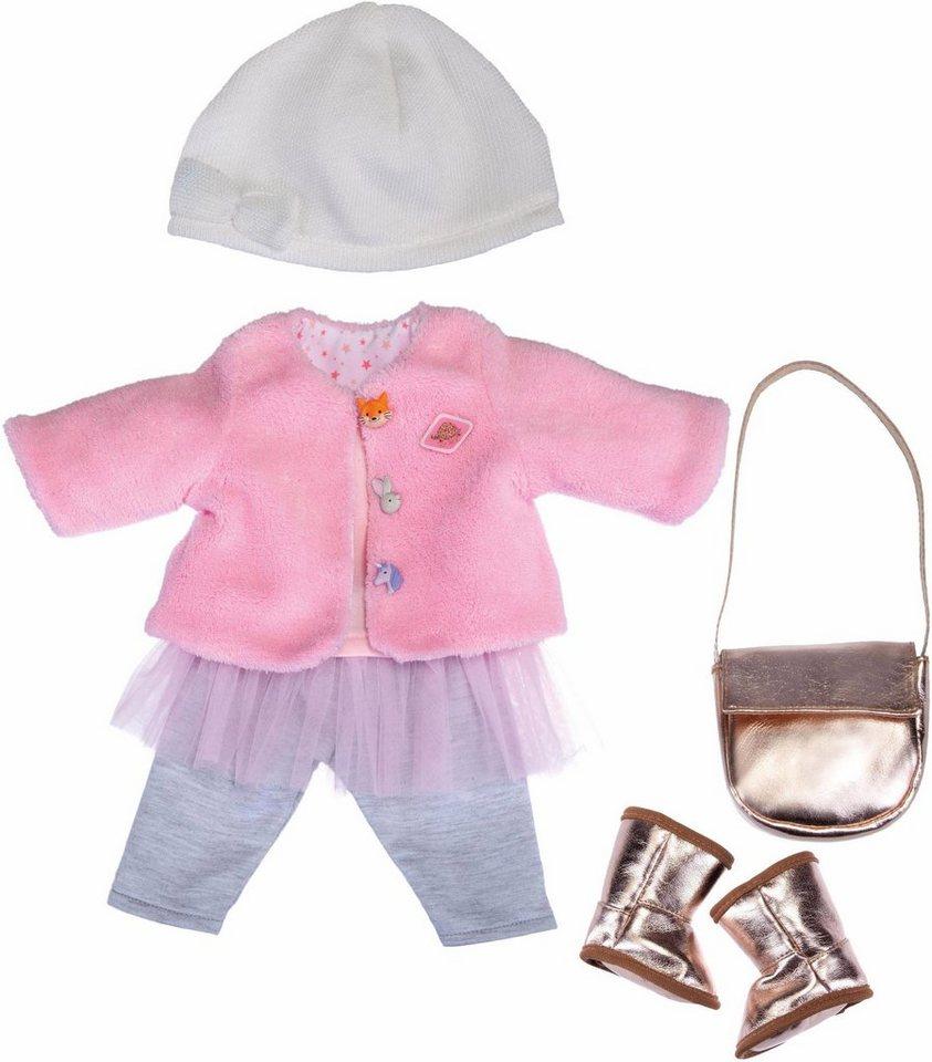 Schildkröt Puppenkleidung, »Emily Deluxe Fashion Set, Winterzauber«