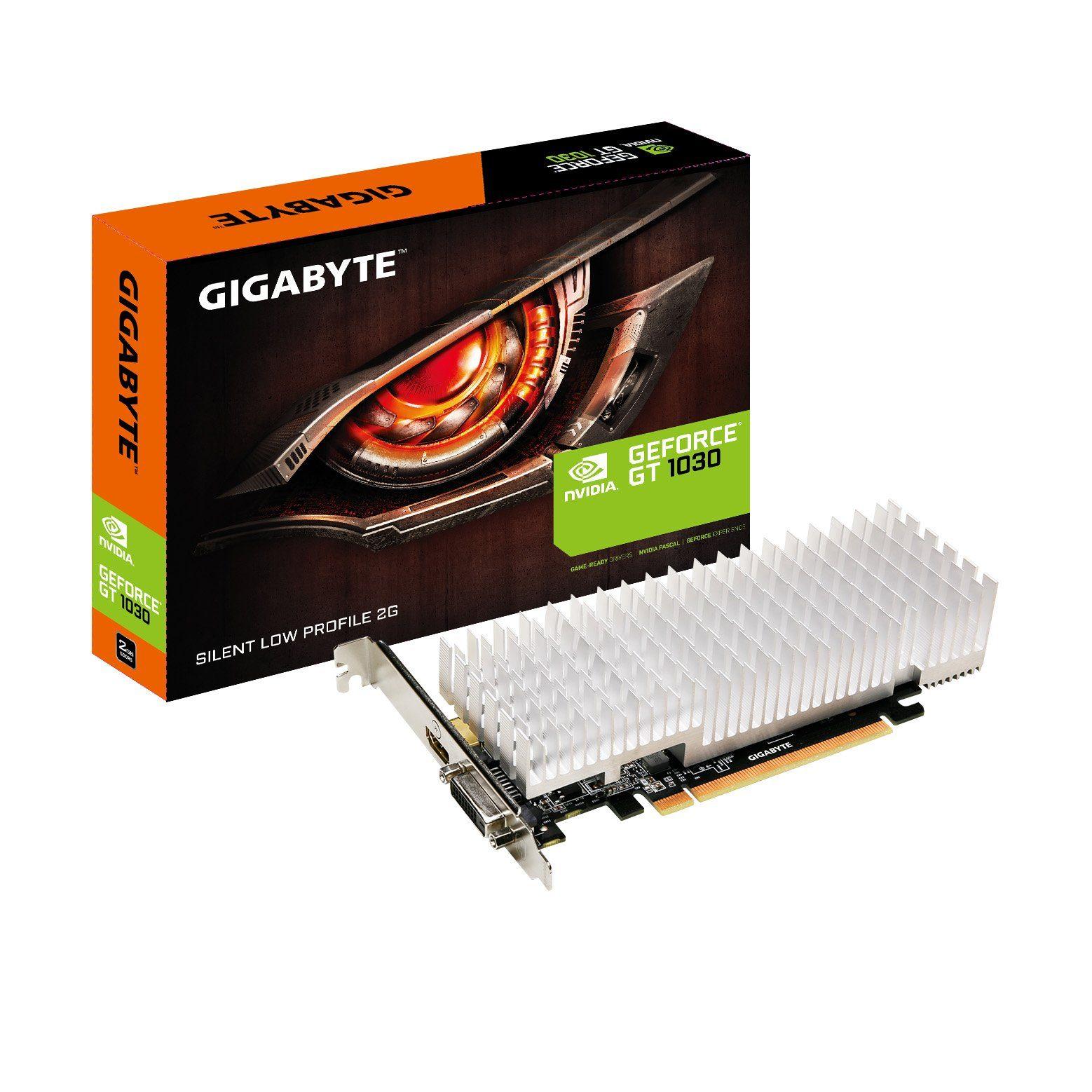 GIGABYTE GeForce® GT 1030 Low Profile 2G, 2GB GDDR5