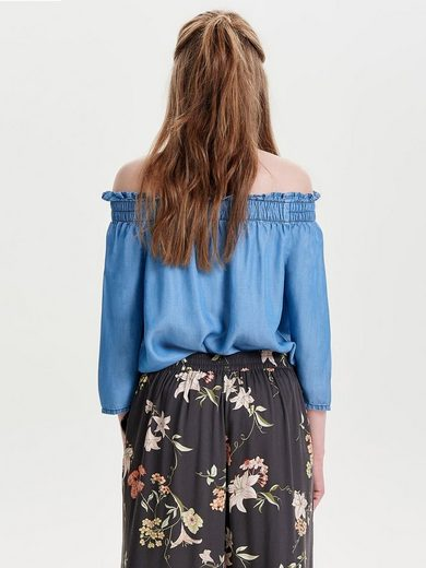 Only Off-Shoulder Oberteil mit 3/4-Ärmeln