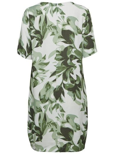 Selected Femme Print - Dress With Short Sleeves