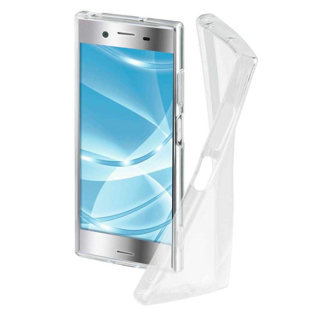 Hama Cover Crystal Clear für Sony Xperia XZ Premium, Transparent