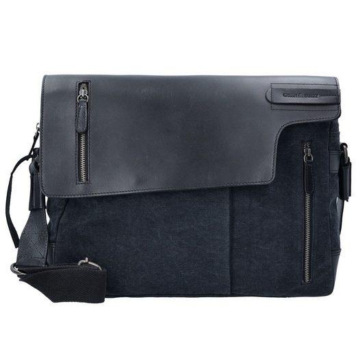 Greenburry Black Sails Messenger Bag 40 cm Laptopfach