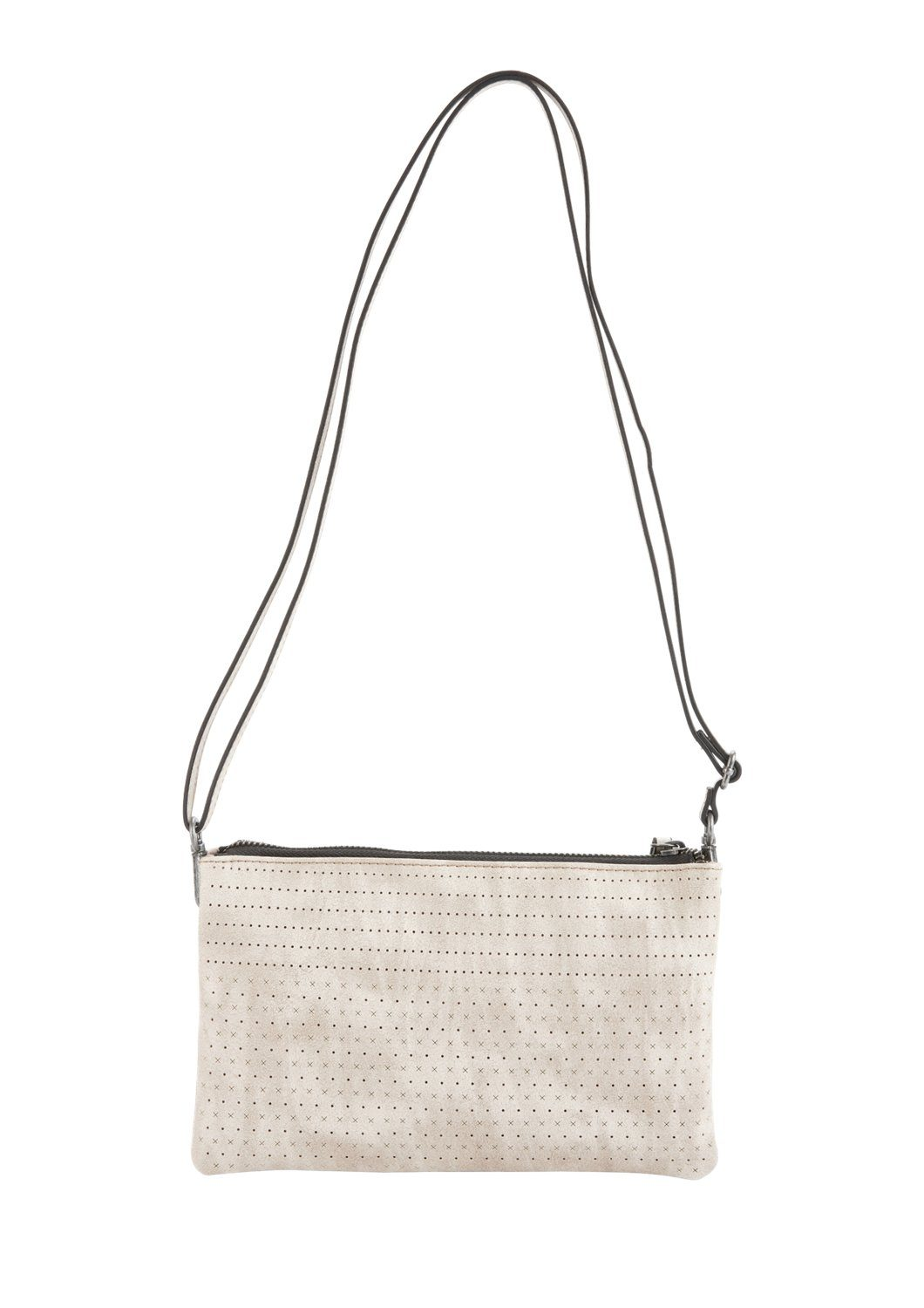 s.Oliver RED LABEL Clutch mit Perforations-Muster