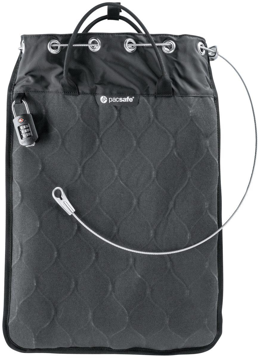 Pacsafe Schutzhülle »Travelsafe 12L GII Portable safe Charcoal«