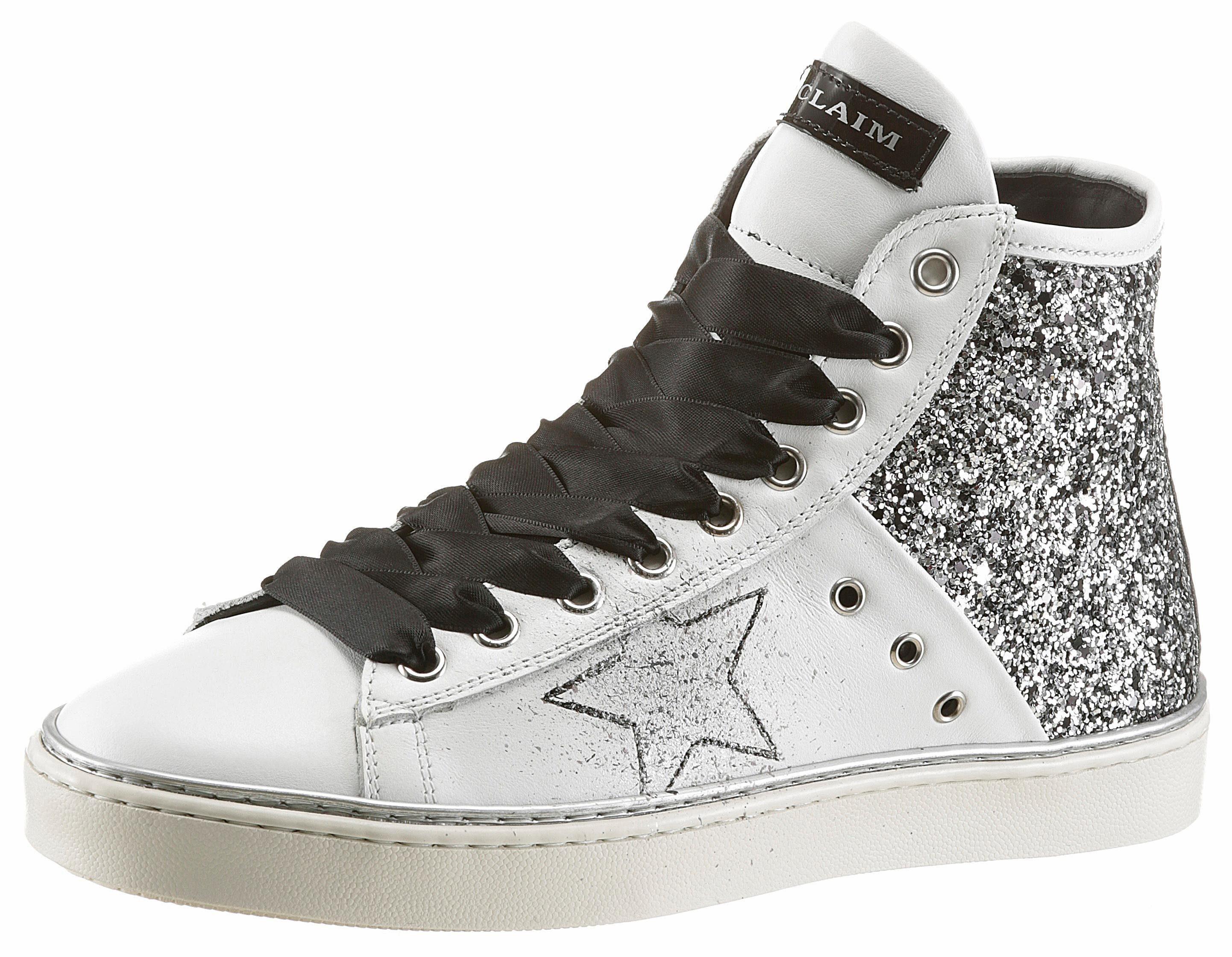 Colmar »DURDEN COLORS« Sneaker, Extra Schnürsenkel, silberfarben, silberfarben
