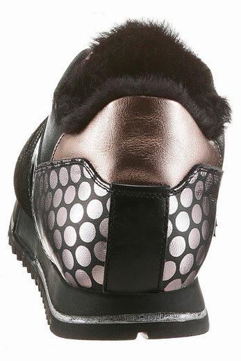 NOCLAIM Sneaker, in aufwendiger Optik