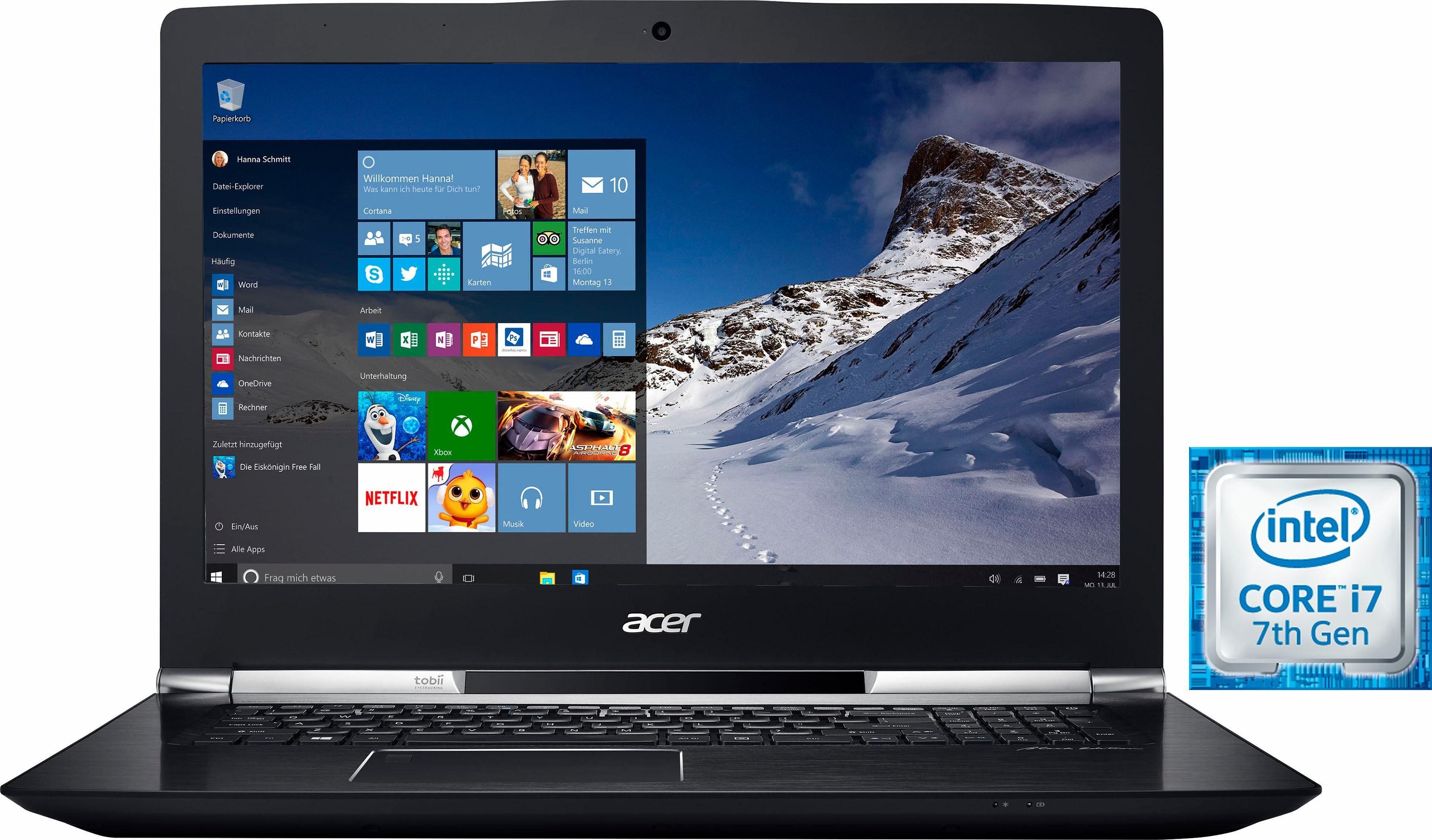 Acer Aspire V 17-VN7-793G-73UU Notebook, Intel® Core™ i7, 43,9 cm (17,3 Zoll), 1256 GB Speicher