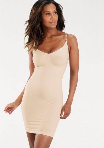 LASCANA Shaping-Kleid mit transparenten Trägern