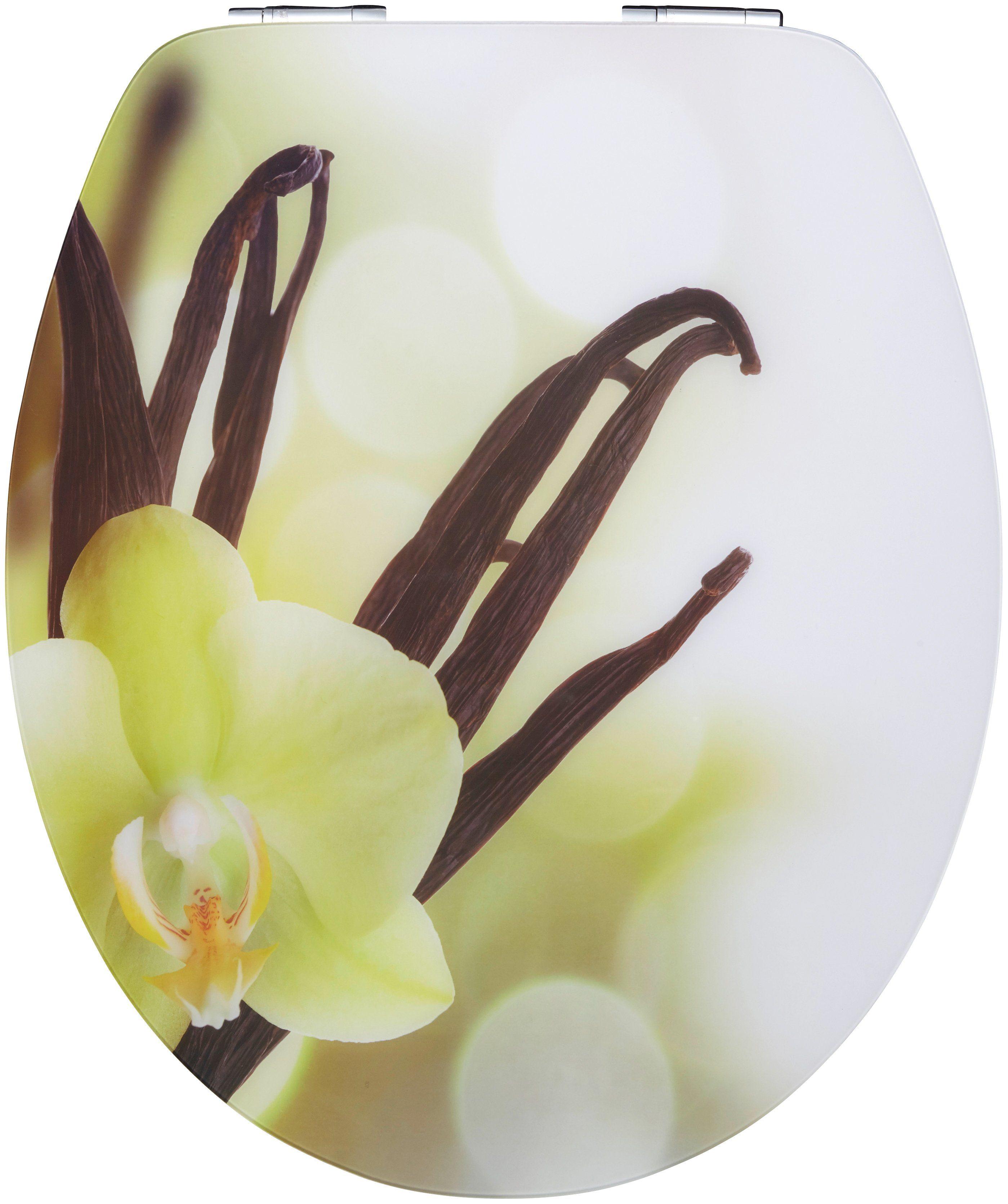 WC-Sitz »Vanilla Cream«, Mit Absenkautomatik