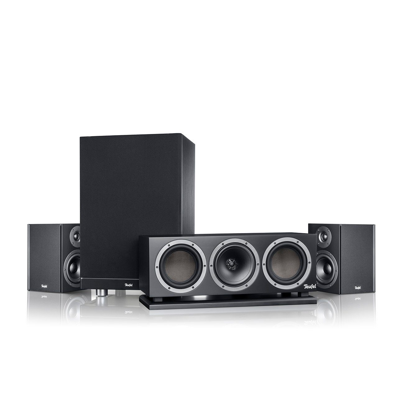 Teufel Lautsprecher Ausbau-Set Surround »Theater 500 2.0>5.1 Ausbau-Set Surround«