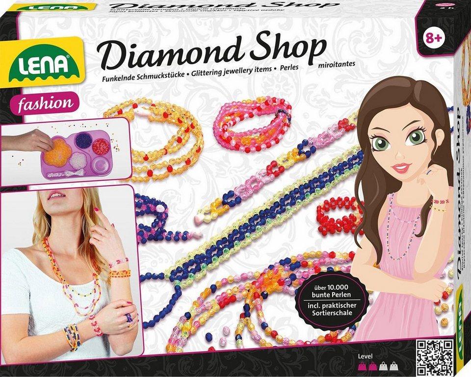 Schmuck shop  LENA® Schmuck Bastelset »Diamond Shop« kaufen | OTTO