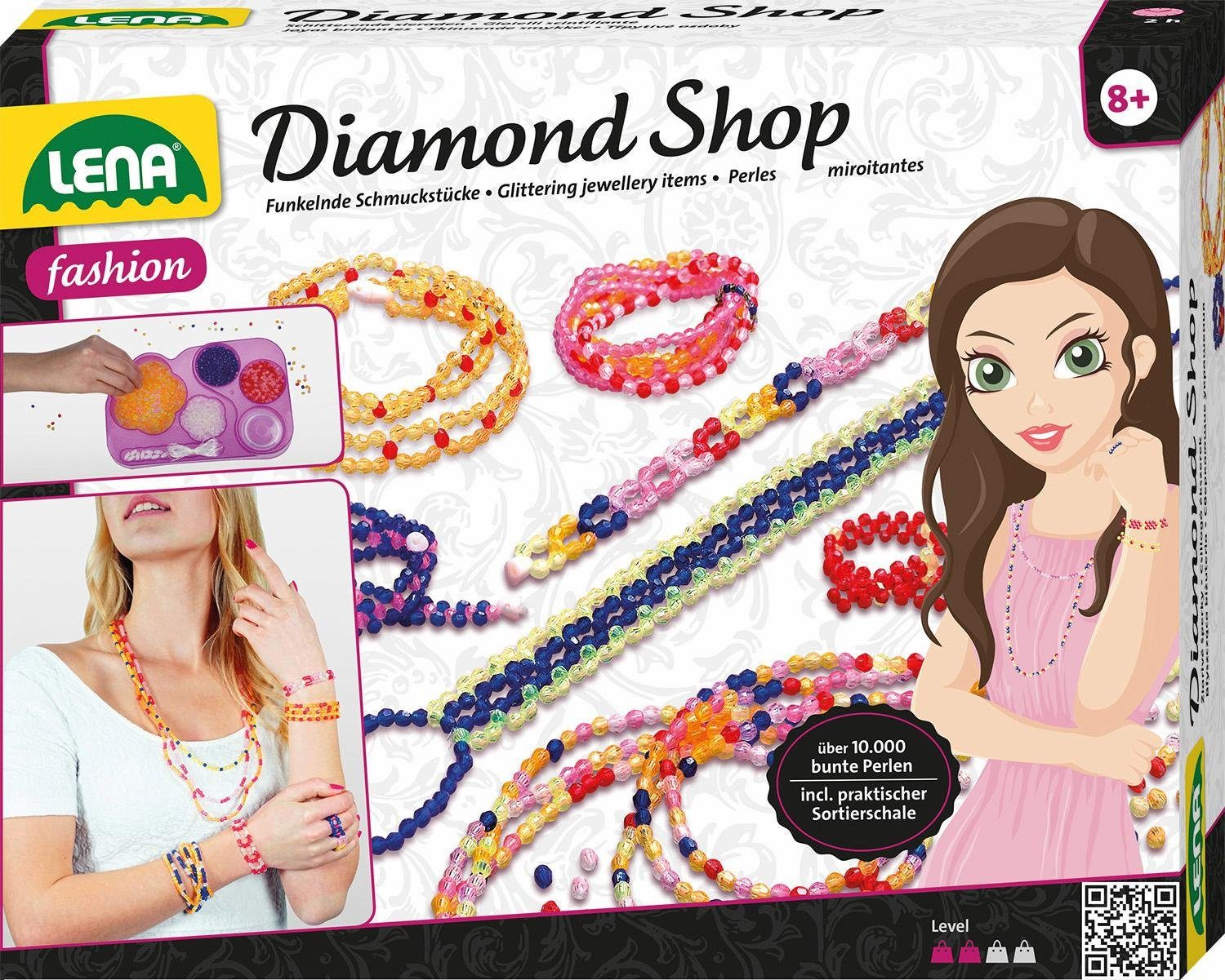 LENA® Schmuck Bastelset »Diamond Shop«