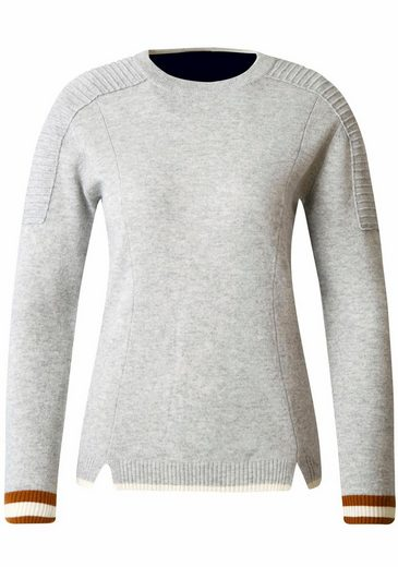 Sportalm Kitzbühel Crew-neck Sweater, With Contrast Cuffs