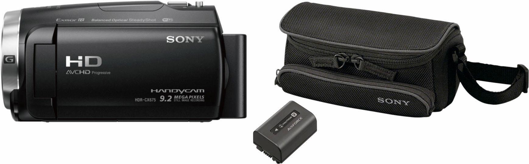 HDRCX625, LCS-U5, NP-FV50 Camcorder Set