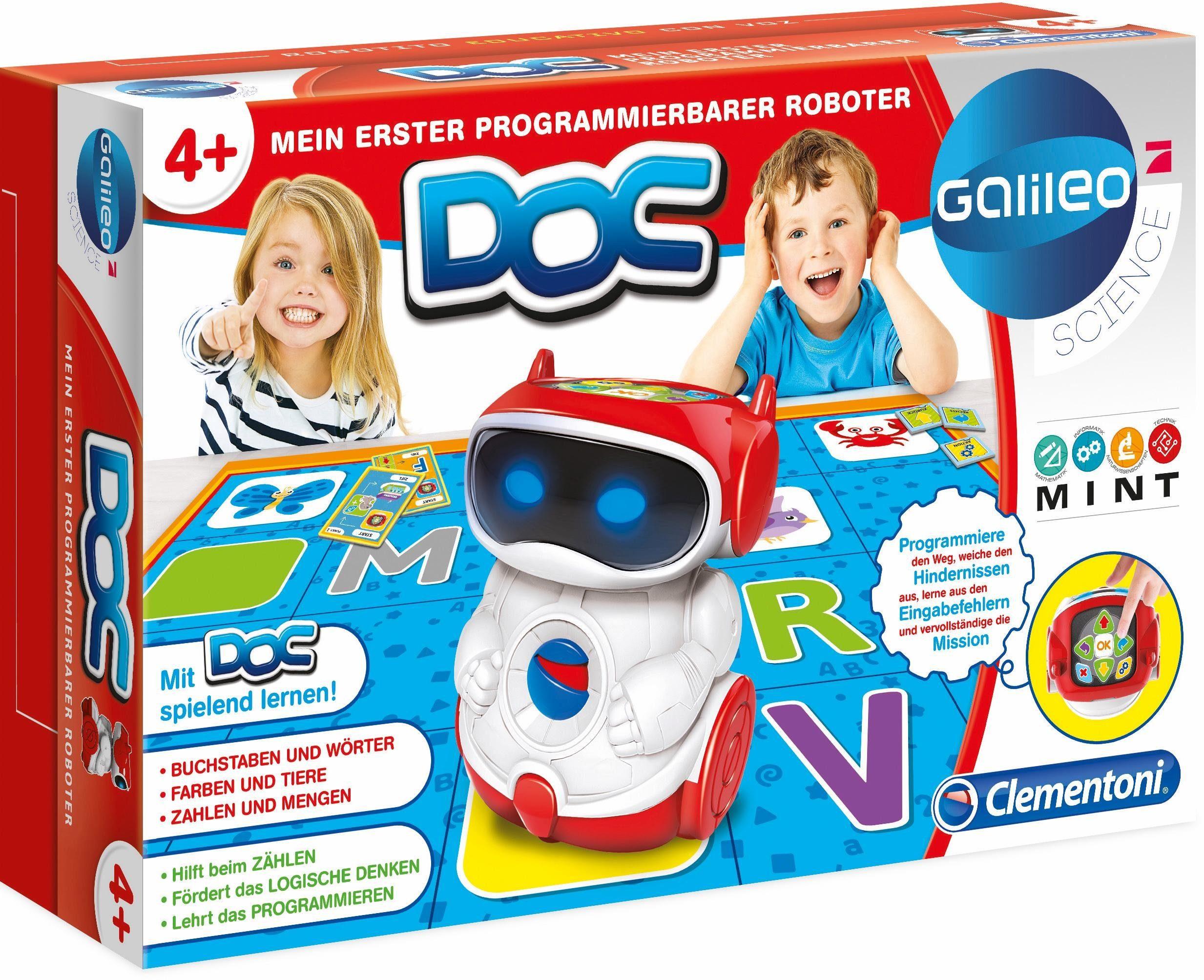 Clementoni Lernspiel, »Galileo Mein erster Roboter DOC«