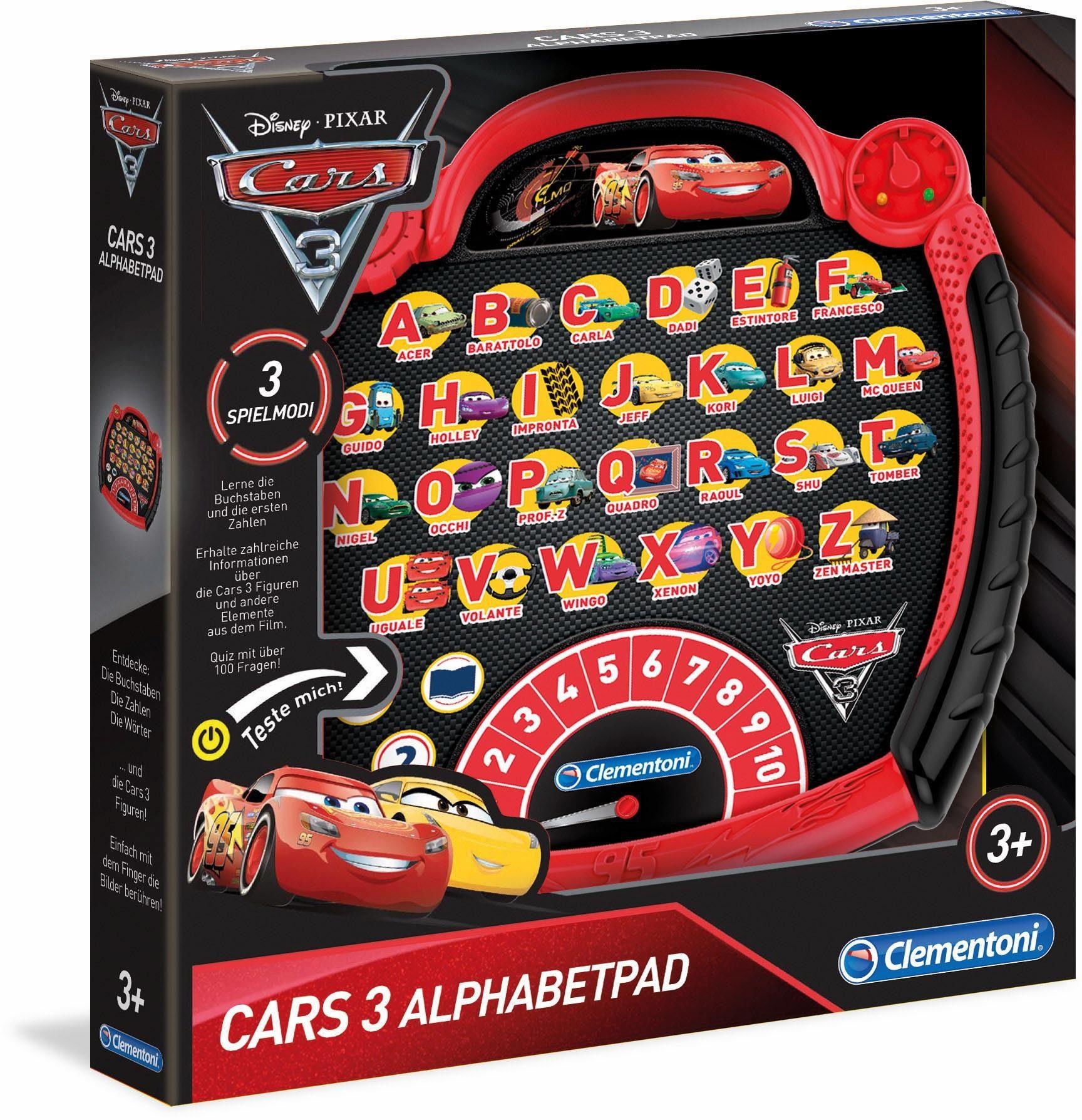 Clementoni Lernspiel, »Disney Pixar Cars Alphabet Pad«