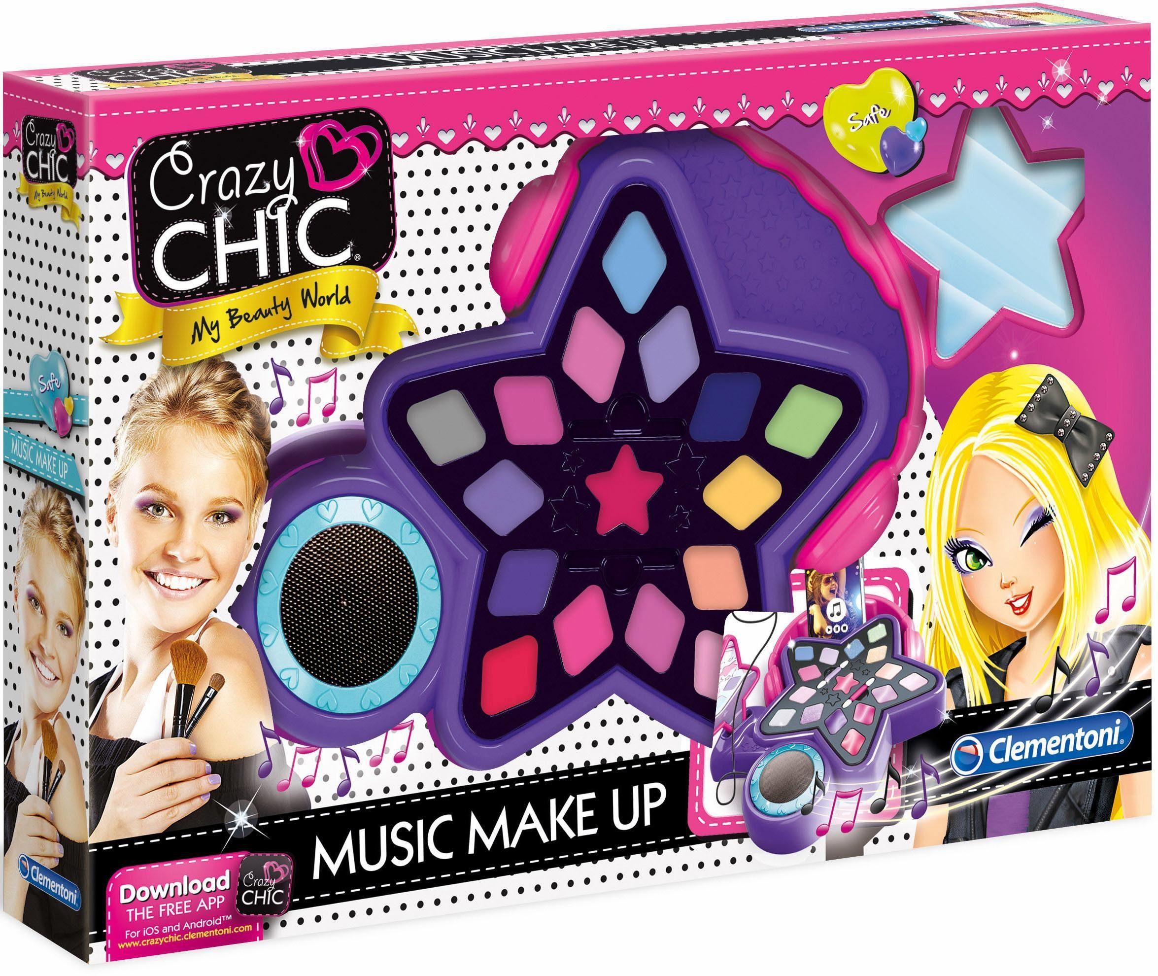 Clementoni Kreativset »Crazy Chic Music Make Up«